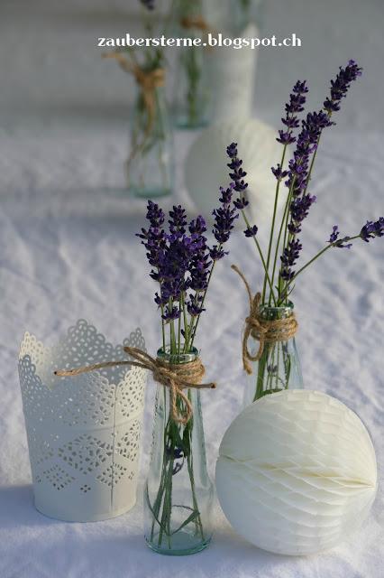 Lavendeldeko, Windlicht Ikea, Kinderspielhaus