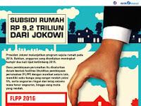 Inilah Program Subsidi Rumah Jokowi di 2016