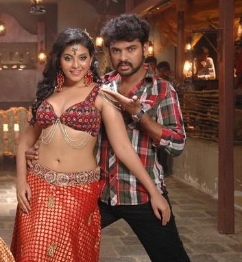 indian masala anjali cleavage tight blouse deep navel