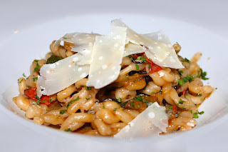 Strozzapretti pasta at Disiac, London