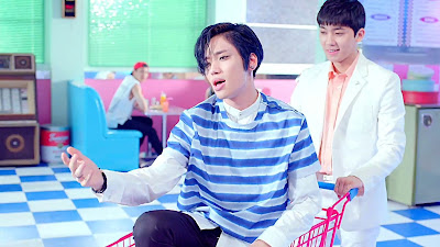 Teen Top Niel in Ah Ah MV