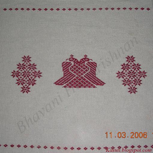 22 Simple Kasuti Embroidery Patterns | Ausbeta.com