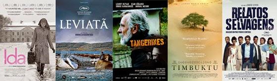 Melhor Filme Estrangeiro - Oscar 2015