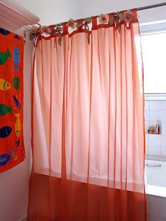 Flor das fadas by f tima nogueira cortinas fofas e for Cortinas de plastico para exteriores