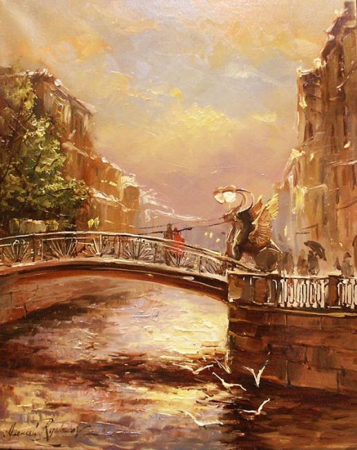 Alexey Rychkov Алексея Рычкова 1968   Russian Impressionist painter