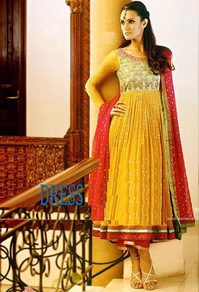 Dress Designs 2011 Mehndi Dresses Designs 3