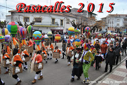 PASACALLES CARNAVAL 2015