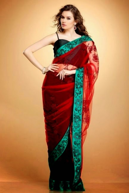 Kapil and Mmonika Trendy Sarees for Formal Wear