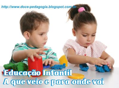 Educação Infantil - A que veio e para onde vai