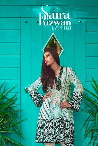 Saira Rizwan Eid Lawn Pret Designs 2014