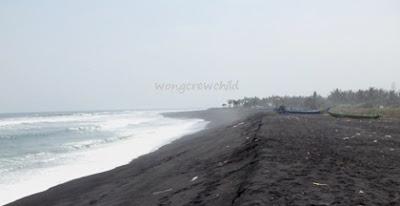 lokasi penambangan liar pantai watu pecak