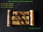 Junco elastico para amarraçao em bambu