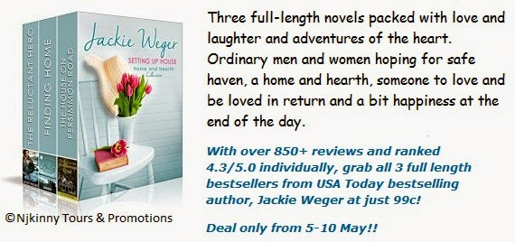 99c Boxset Sale Alert! Setting Up House: Home and Hearth Collected Edition by Jackie Weger {5-10 May}