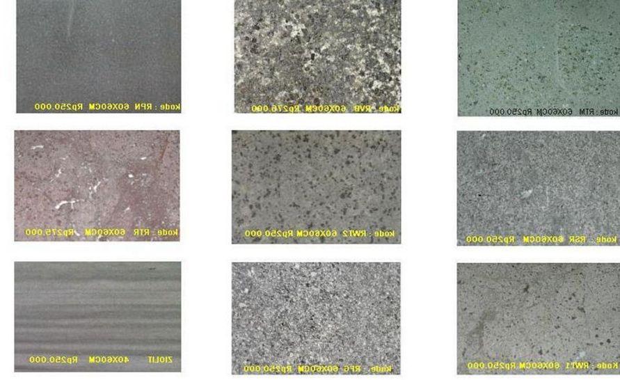 ide corak lantai granit idaman