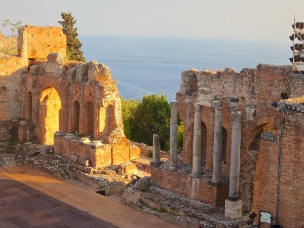 Sycylia - amfiteatr w Taorminie