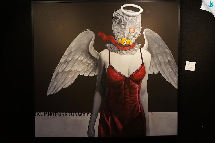 Gambar Pameran Lukisan - Lukisan I'm Angel