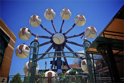The Fly Ball Ferris Wheel!