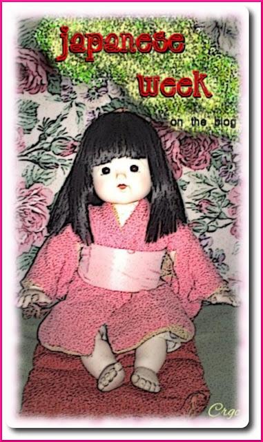 Japanese week / Semana japonesa en el blog Crgc - muñeca geisha