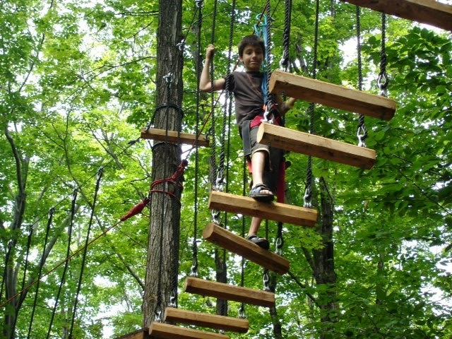 Kids love Ropes Courses