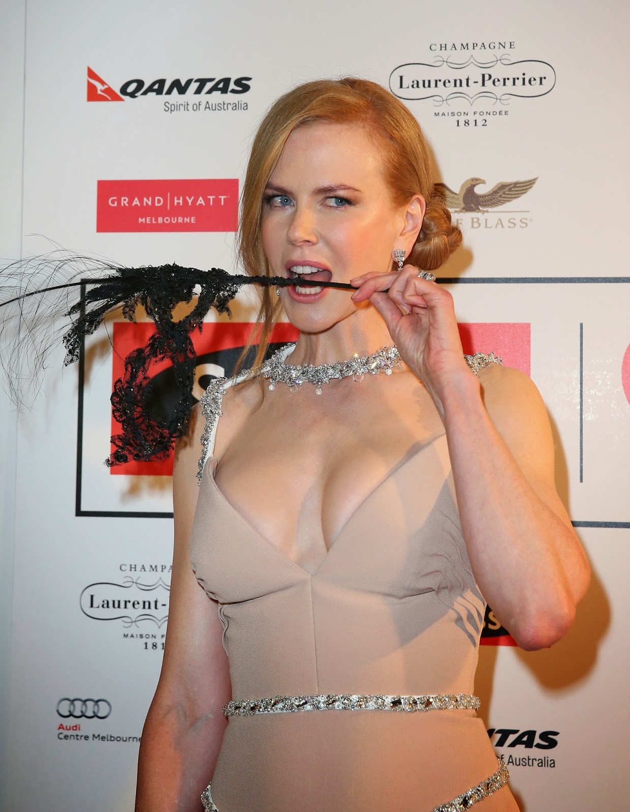 Nicole Kidman Celebrate Life Ball in Melbourne 13/06/2014