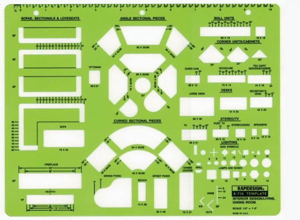 Drafting steals september 2013 Room design template