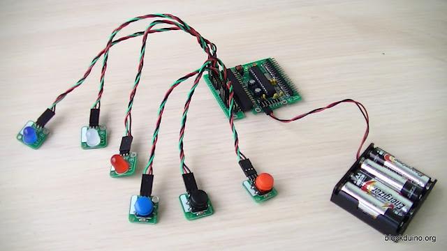 Задачка для Arduino: кнопки и светодиоды