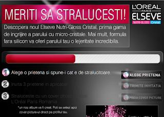 "Concurs L'oreal Paris ""Meriti sa stralucesti"" 24 mai – 5 iunie 2012"