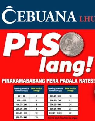 cebuana visayas rates 2015