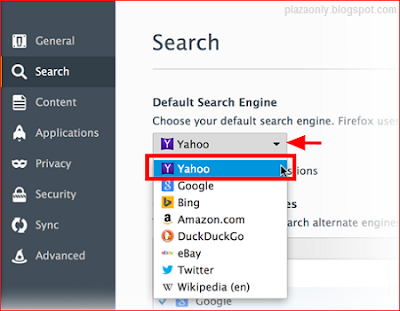 Cara Mengganti Search Default