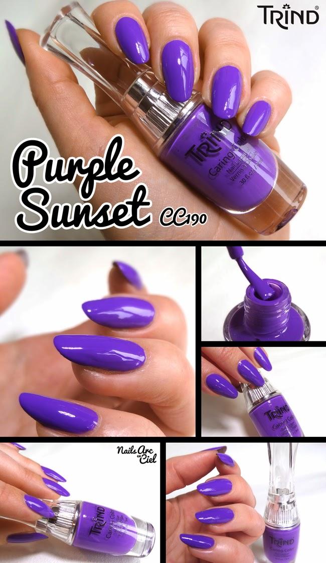 Vernis Trind Purple Sunset CC190