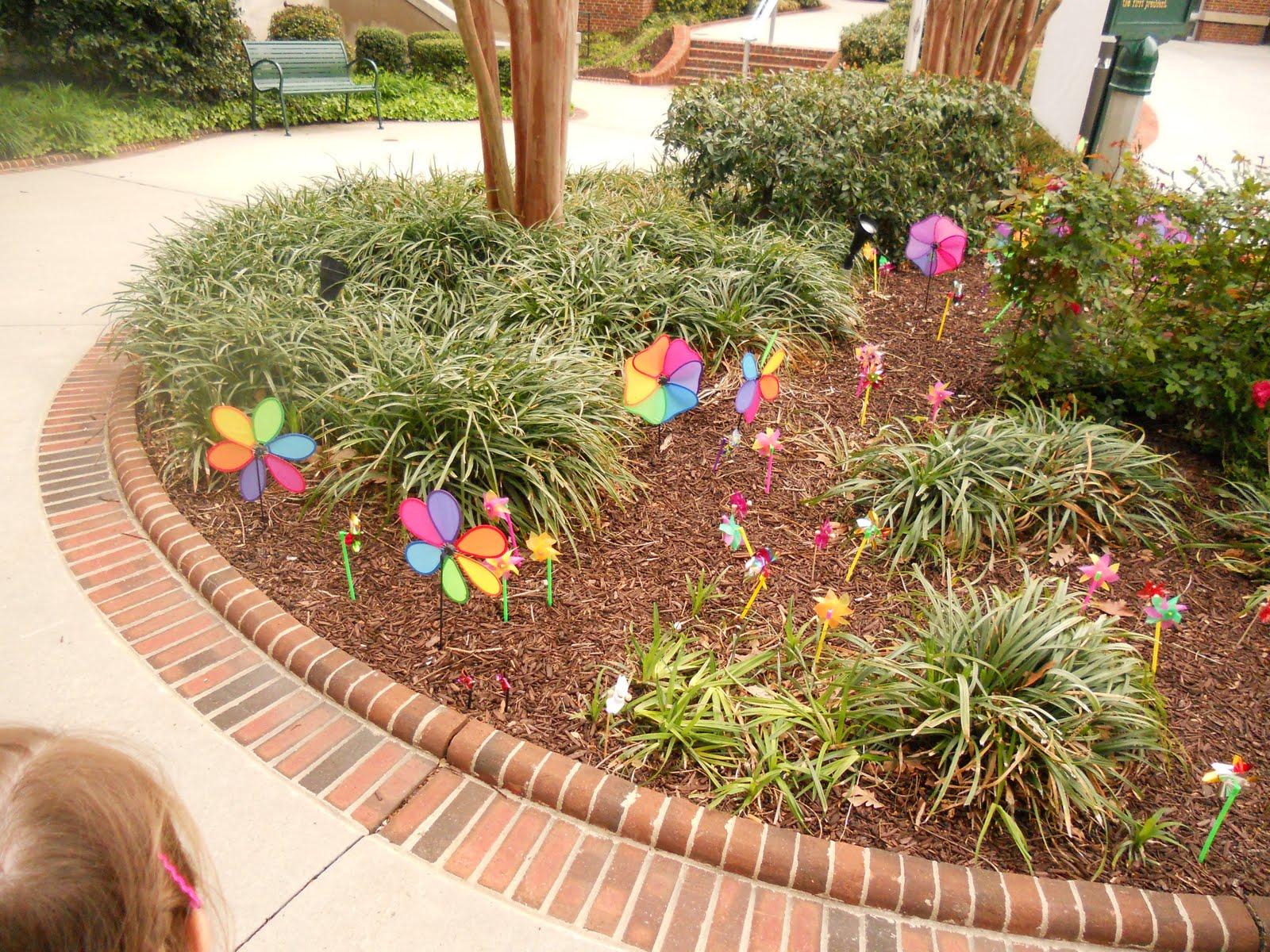 Thoroughly Blessed: Pinwheels, Pinwheels Everywhere!
