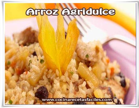Recetas de arroz , arroz agridulce