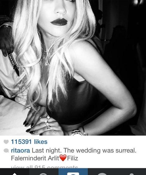 Rita Ora at an Albanian Wedding: Was Surreal