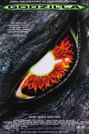 Poster Godzilla 1998