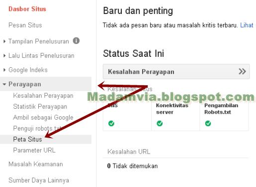 Cara Submit Sitemap Di Webmaster Untuk Mempercepat Index Blog