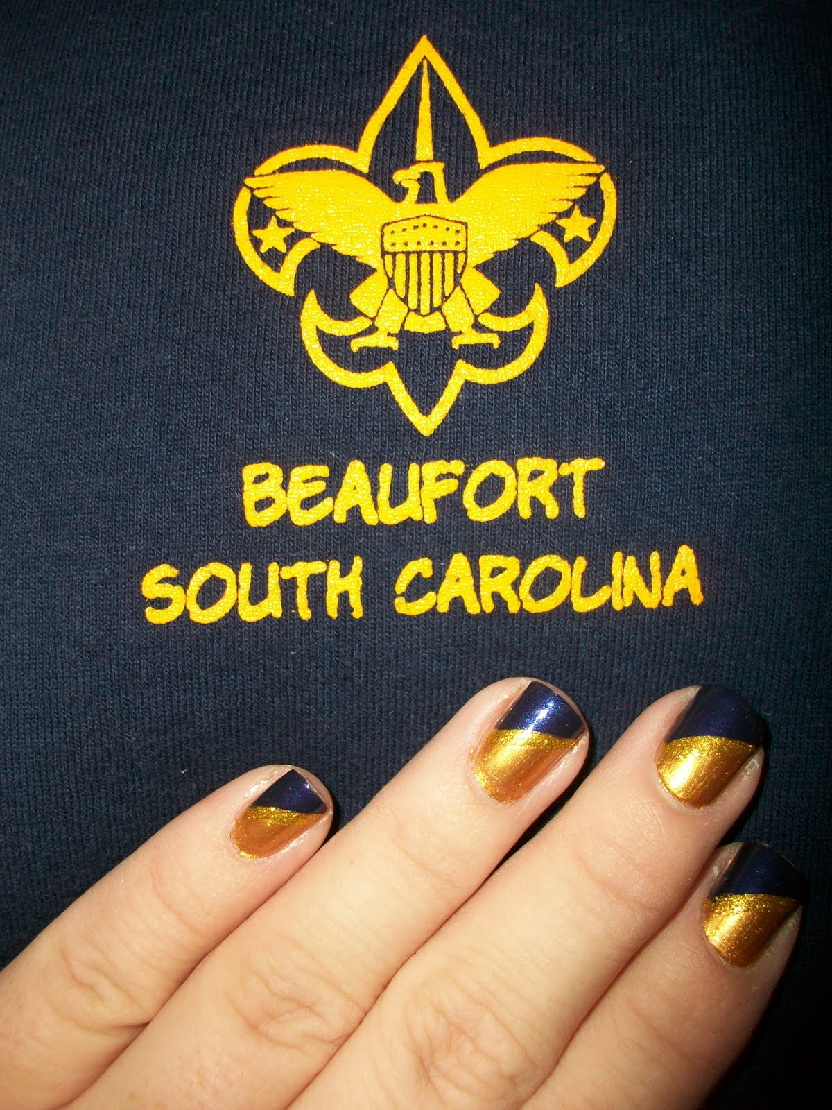 Stacey S Nails Cub Scout Mani