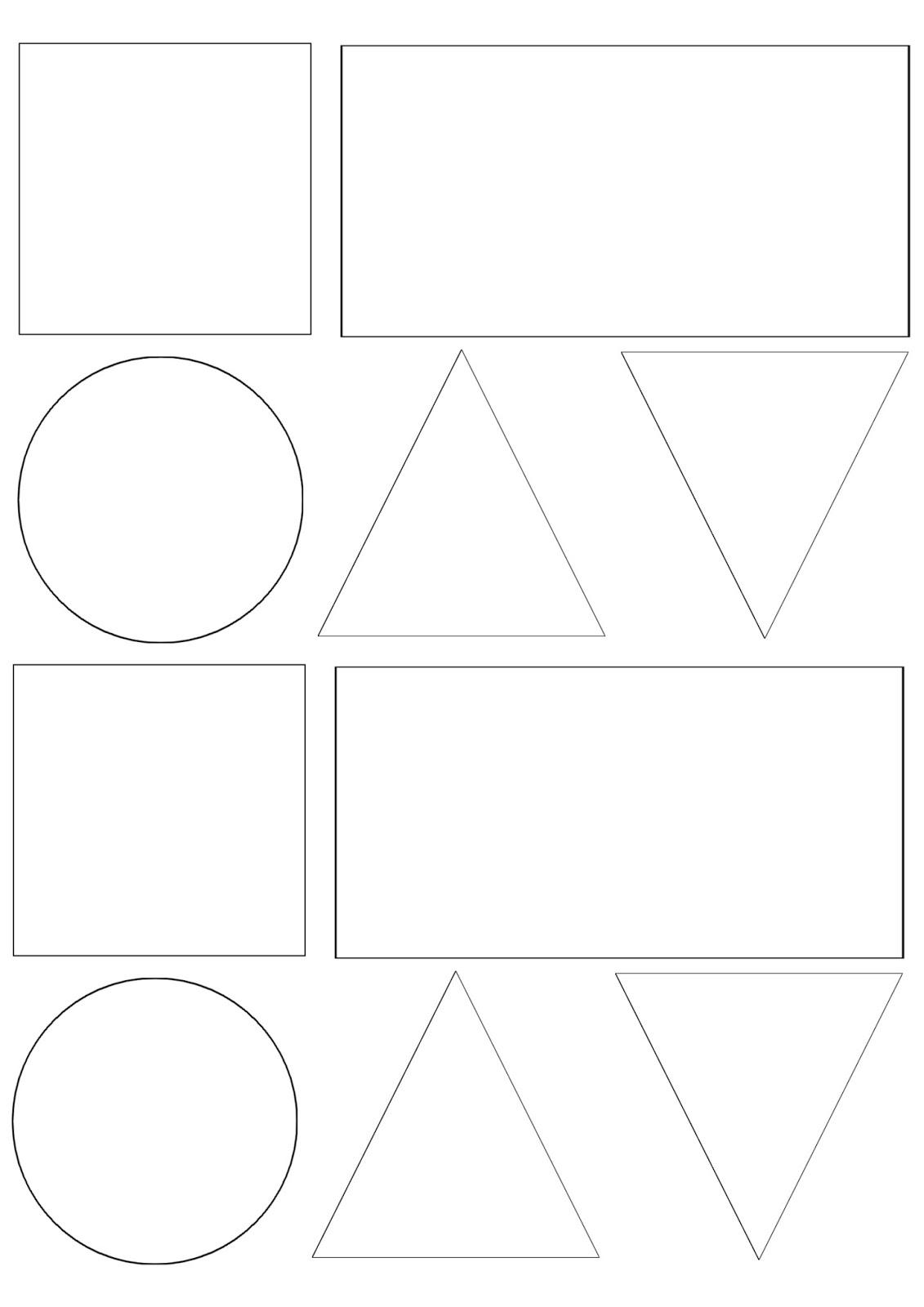 Geometrické tvary ke stažení po kliknutí se obrázek zvětší
