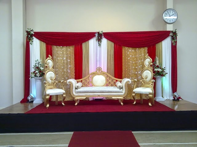 Asian Wedding Stage Decoration