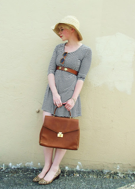 stripes, summer, beach, in style, fashion, seattle street style, fleur d'elise, blogger
