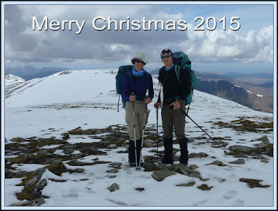 Happy Days in 2015 - the summit of An Riabhachan on 9 May