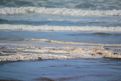 photo of waves at Rockaway Beach Oregon by Nancy Zavada