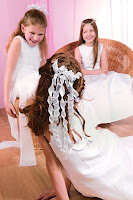 First Holy Communion For Little Girl
