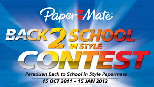 Paper Mate 'Back To School In Style' Contest