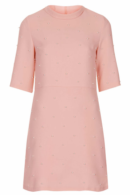 pink pearl dress