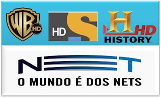 Novos Canais HD na NET