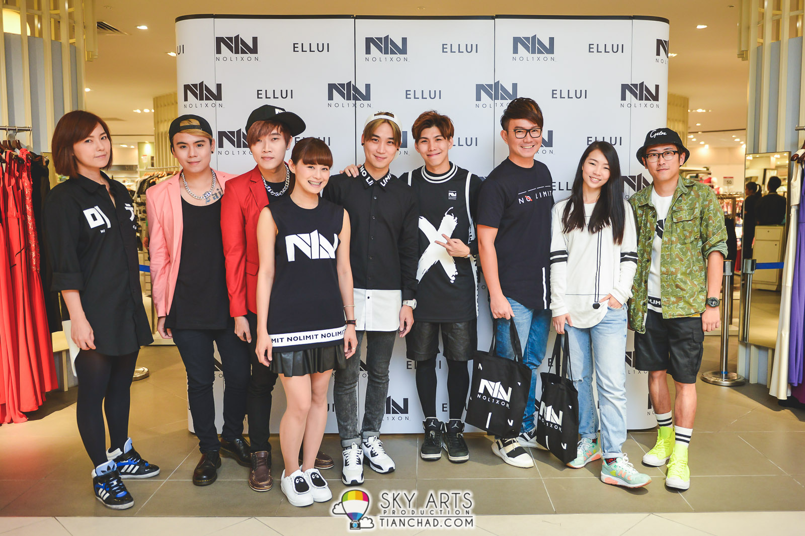 NOL1XON Streetwear Pop-Up Store @ Isetan KLCC #NOL1XONxELLUI