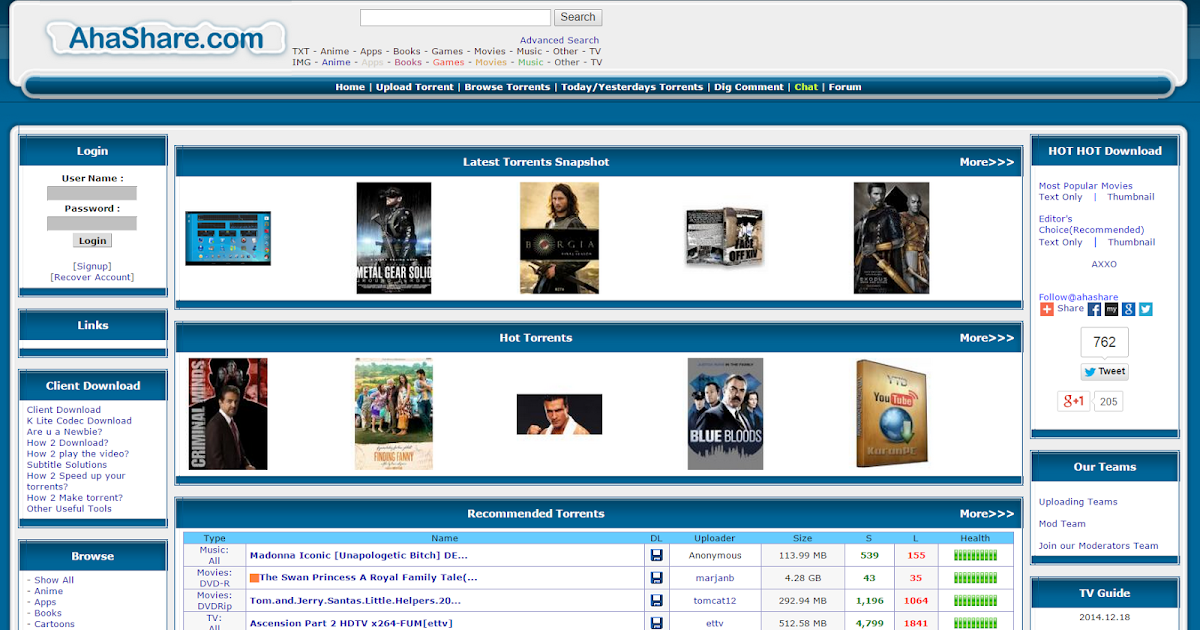 Movie free torrents