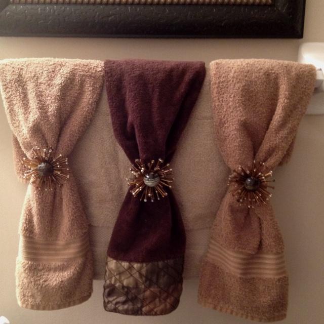 bath cloths decoration