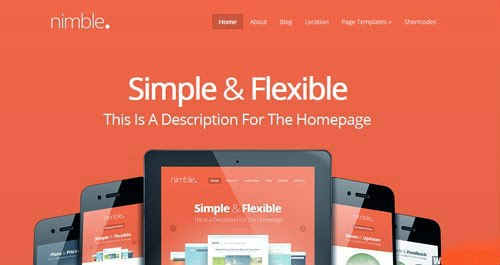 Nimble ElegantThemes Wordpress Theme Version 1.4 Free