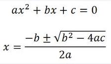 Resolver ecuaciones de segundo grado
